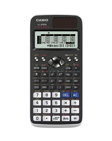 【まとめ買い10個セット品】 関数電卓 CLASSWIZシリーズ 日本語表示対応 fx-JP900-N 【メイチョー】