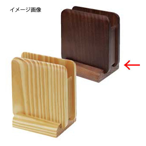 【まとめ買い10個セット品】シンビ ナプキンスタンド PD-102 茶