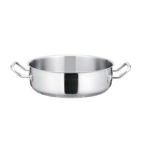 【まとめ買い10個セット品】 KYS NEWPRO IH外輪鍋(蓋無) 34cm 【メイチョー】