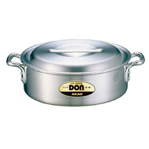 【即納】【まとめ買い10個セット品】DON アルミ 外輪鍋 21cm【AKAO アルミ鍋 大鍋 煮込み鍋 炊き出し】【メイチョー】