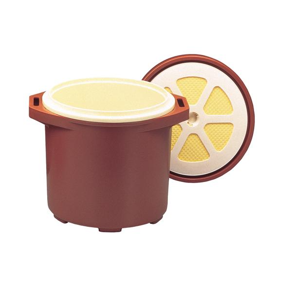 保温食缶ご飯用 大 DF-R1 容量:2升5合 φ324×386×H312 【メイチョー】