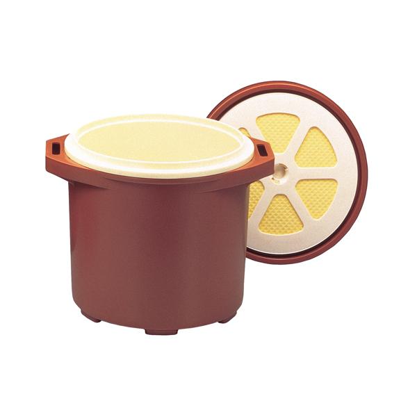 【即納】【まとめ買い10個セット品】 保温食缶ご飯用 小 DF-R2 容量:1升3合 φ324×386×H180 【メイチョー】