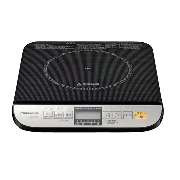 【即納】【まとめ買い10個セット品】 IH調理器 KZ-PH33-K パナソニック 【メイチョー】