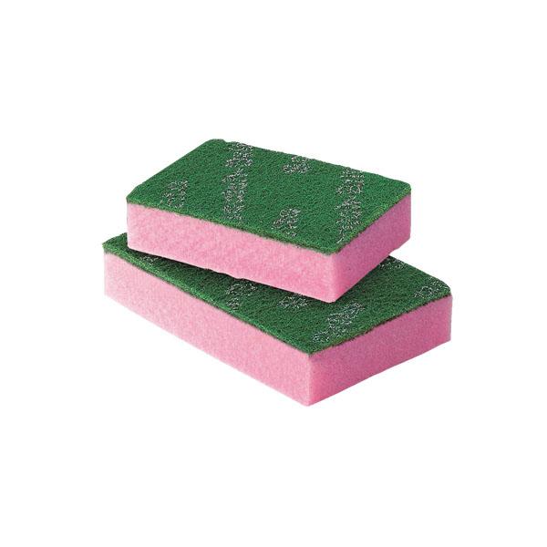【まとめ買い10個セット品】 3M スポンジエース ピンク L (10個入) 【メイチョー】