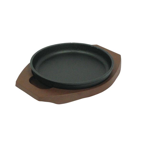 【即納】【まとめ買い10個セット品】 トキワ ステーキ皿 304丸型小+樹脂製台 WP304S 【メイチョー】