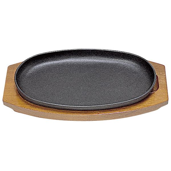 【即納】【まとめ買い10個セット品】 三和 ステーキ皿 小判型D 25cm 【メイチョー】