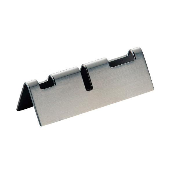 【まとめ買い10個セット品】 18-8 TD 三角型 箸・ナイフ・フォークレスト 【メイチョー】