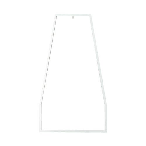 【まとめ買い10個セット品】 SF中央両面タイプ用 スラントフレーム H150cm用 ホワイト 【メーカー直送/代金引換決済不可】店舗什器 ディスプレー マネキン 装飾品 販促用品 ハンガー ラッピング