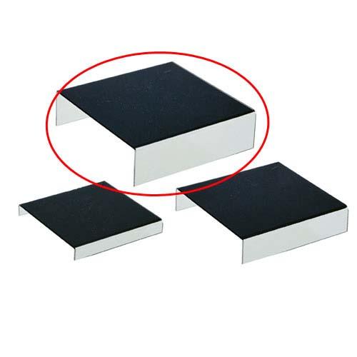 【まとめ買い10個セット品】 アクリルステージ 黒 大 2個【ディスプレイ用品 店舗什器 ディスプレイボックス 小物 ディスプレイ ショーケース コレクションボックス 展示用品 業務用】