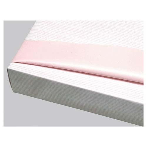 【まとめ買い10個セット品】 リバーシブル ストライプ ピンク 500枚【店舗什器 小物 ディスプレー ギフト ラッピング 包装紙 袋 消耗品 店舗備品】