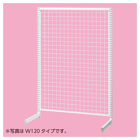 【まとめ買い10個セット品】 SR90強化型片面本体ホワイト H210cm 【メイチョー】
