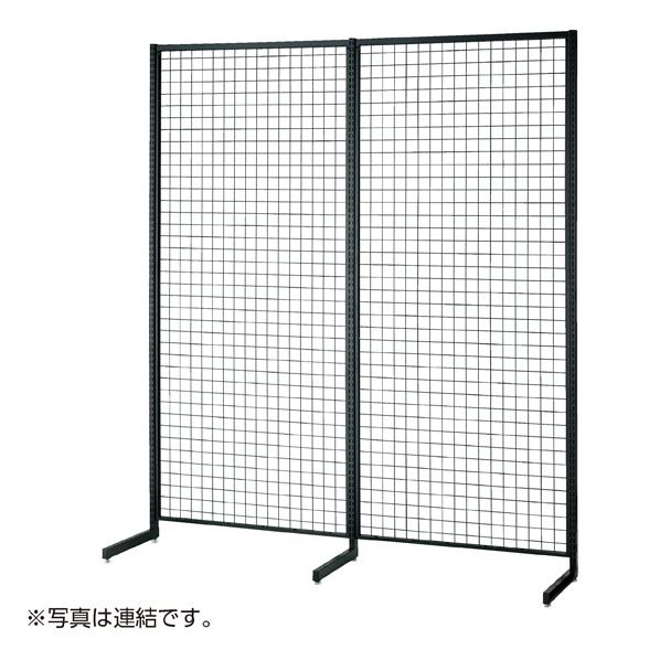 【まとめ買い10個セット品】 SR90強化型片面本体ブラック H135cm 【メイチョー】
