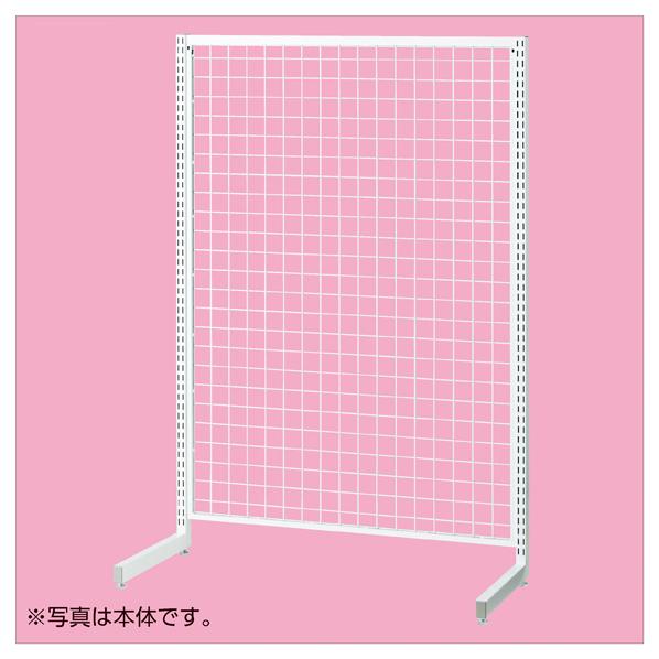【まとめ買い10個セット品】 SR120強化型片面連結ホワイト H135cm 【メイチョー】