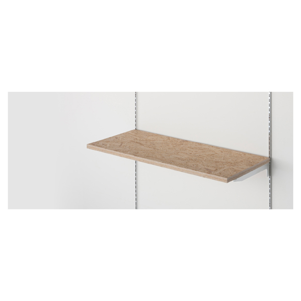 【まとめ買い10個セット品】 OSB木棚セット W120×D40cm 【メイチョー】