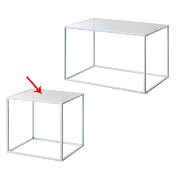 【まとめ買い10個セット品】 スチール製ボックス 大 白 【メイチョー】