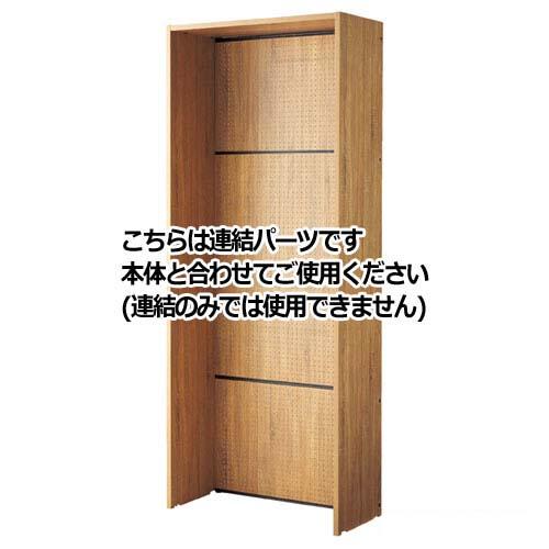 【まとめ買い10個セット品】 HOLT 片面W90cmタイプ H240cm 連結 木製パネル付き【店舗什器 パネル 壁面 小物 ディスプレー 店舗備品】