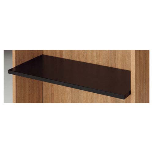 【まとめ買い10個セット品】 HOLT 木棚セット ブラック W90cmタイプ D35cm【店舗什器 パネル 壁面 小物 ディスプレー 店舗備品】