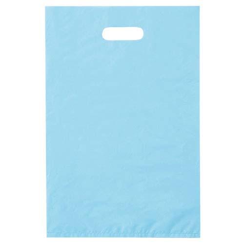【まとめ買い10個セット品】 ポリ袋ハード型 ブルー 50×60cm 50枚 レジ袋【ラッピング用品 包装 ラッピング袋 ポリ袋 レジ袋 カラー 消耗品 業務用】