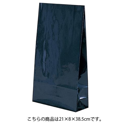 【まとめ買い10個セット品】 ギフトファンシーバッグ 紫紺 21×8×38.5 50枚【店舗什器 小物 ディスプレー ギフト ラッピング 包装紙 袋 消耗品 店舗備品】