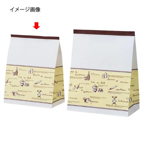 ケーキバッグ ティータイム 16×9×20.5 2000枚【店舗什器 小物 ディスプレー 消耗品 店舗備品】
