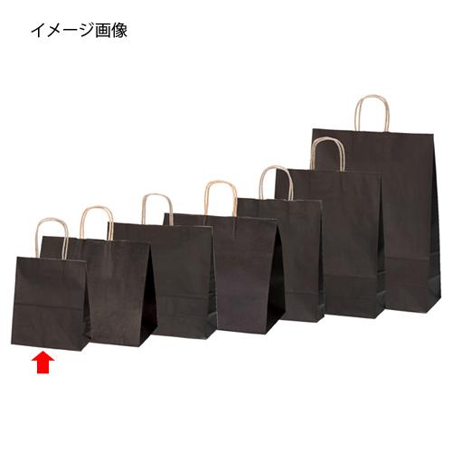 【まとめ買い10個セット品】 カラー手提げ紙袋 ブラウン 21×12×25 300枚【開業プロ】