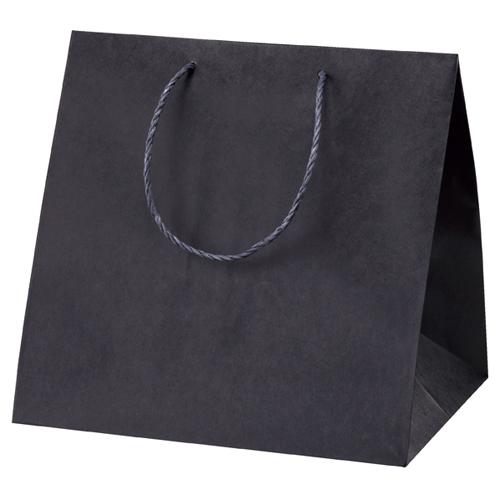 【まとめ買い10個セット品】 アレンジバッグ 黒 35×28×35 50枚【店舗什器 小物 ディスプレー ギフト ラッピング 包装紙 袋 消耗品 店舗備品】
