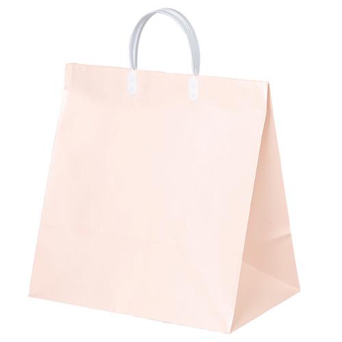 【まとめ買い10個セット品】 手提げ紙袋 寿用 ピンク 35×36cm 10枚【 ラッピング用品 包装 ラッピング袋 紙袋 ペーパーバッグ 中身が見えにくい 無地 ブライダル 手提げ袋 手提げ紙袋 消耗品 業務用 ギフト 】