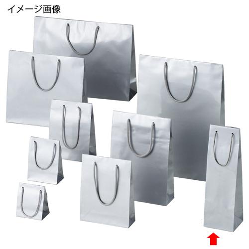 【まとめ買い10個セット品】 ブライトバッグ シルバー 11×10×36.5 50枚【店舗什器 小物 ディスプレー ギフト ラッピング 包装紙 袋 消耗品 店舗備品】