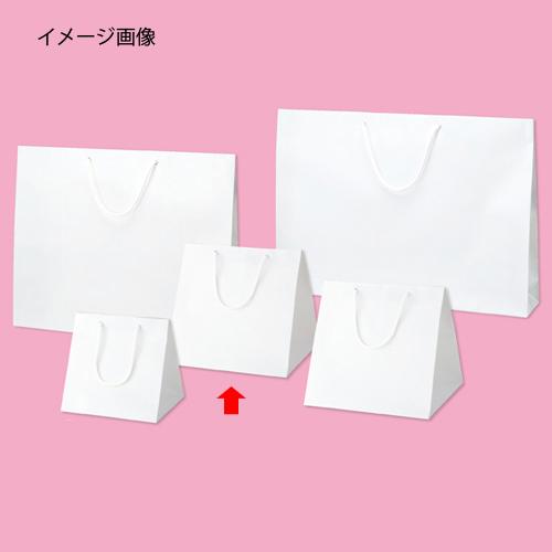 【まとめ買い10個セット品】 ブライトバッグ ホワイト 28×25×28 50枚【店舗什器 小物 ディスプレー ギフト ラッピング 包装紙 袋 消耗品 店舗備品】