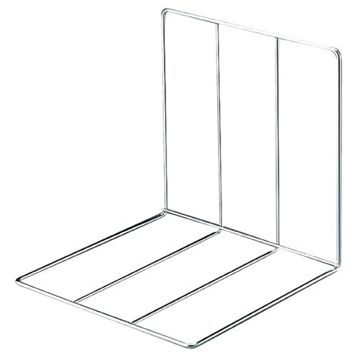 【まとめ買い10個セット品】 鉄線仕切板り(5個組) 30×30×30cm 5個【店舗什器 ディスプレー 棚 店舗備品】