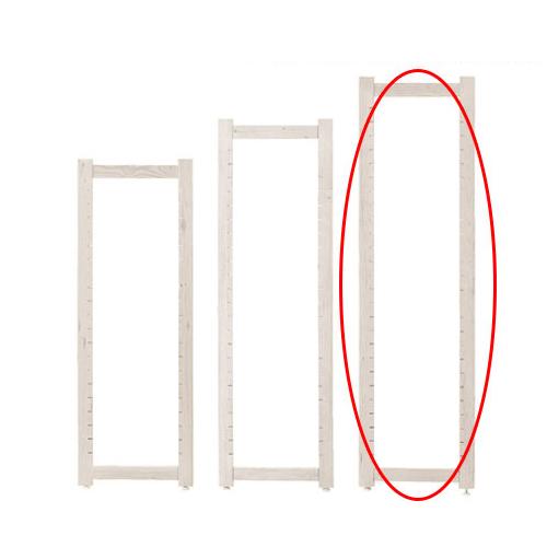 【まとめ買い10個セット品】 アルテン サイドフレーム ホワイト H150cm 【メーカー直送/代金引換決済不可】店舗什器 ディスプレー マネキン 装飾品 販促用品 ハンガー ラッピング