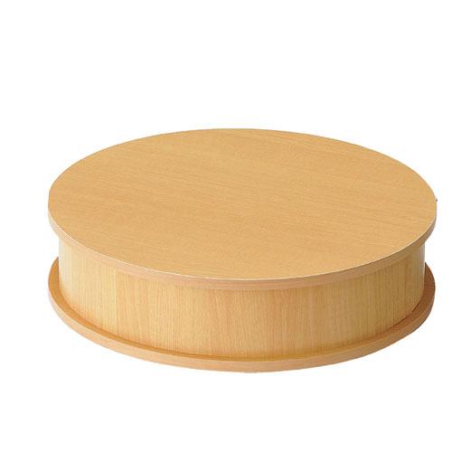 木製ステージ エクリュ ラウンド 【 店舗什器 ディスプレイ用テーブル ステージ 木製ステージ エクリュ 】【メイチョー】
