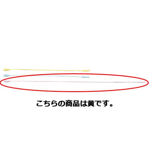 【まとめ買い10個セット品】 糸ロックス パステル L20cm 黄 100本【店舗什器 スーパー 値札 アパレルなど 店舗備品】