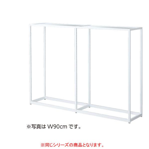 LR4中央片面ホワイト連結W120×H135cmセメント柄 木天板セット 【メイチョー】