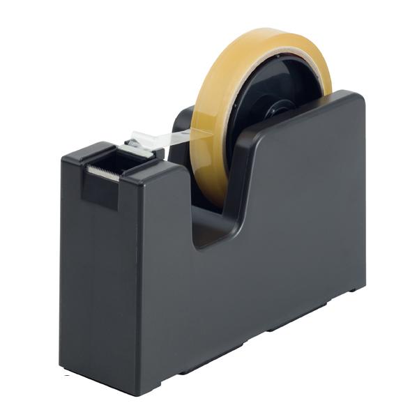 【まとめ買い10個セット品】 テープカッター タブメーカー ダークブラウン 【メイチョー】