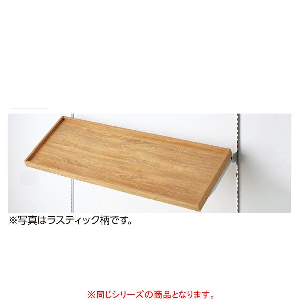 【まとめ買い10個セット品】 傾斜トレー棚セット セメント柄 W120×D35cm 【メイチョー】