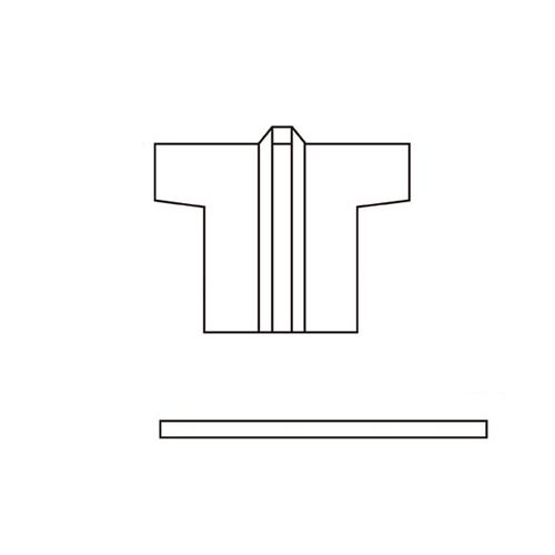 【まとめ買い10個セット品】 祭ハッピ L赤 〔市松T〕【 販促用品 イベント用品 プロモーション 広告 セール 店頭 訴求 サービス 業務用 】