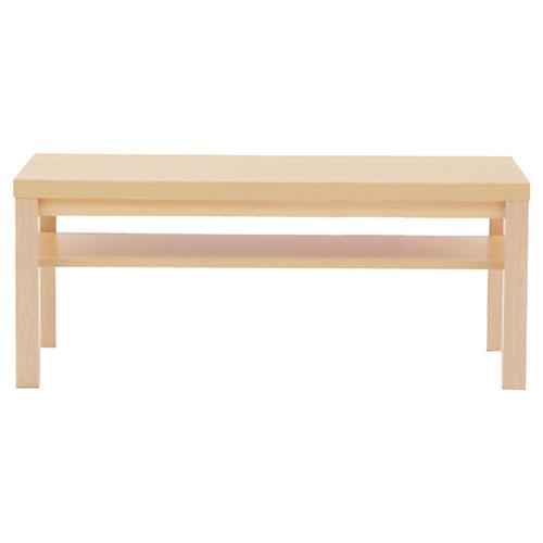 木製テーブル W110cm ナチュラル 【メーカー直送/代金引換決済不可】店舗什器 ディスプレー マネキン 装飾品 販促用品 ハンガー ラッピング, Espace liberte 65ba4f72