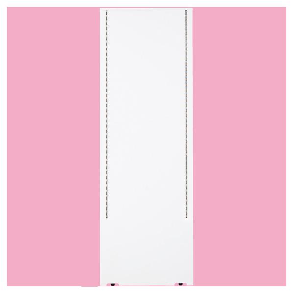 【まとめ買い10個セット品】 F-PANEL センター/エンドパネル D452 ホワイト (両面スリット仕様) 【メイチョー】