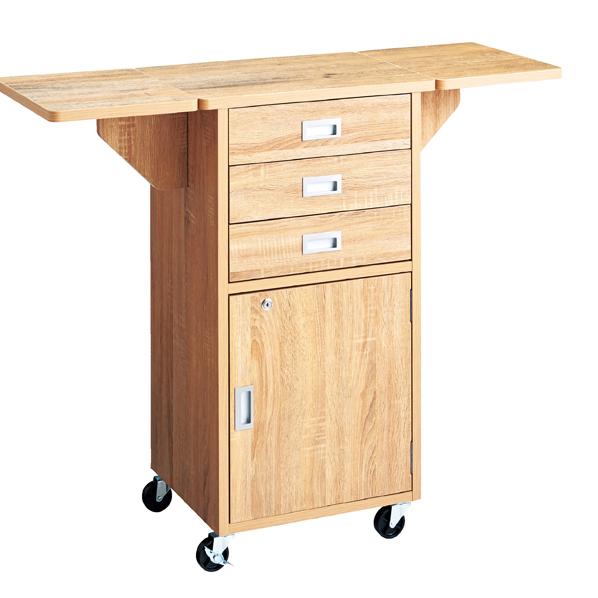 【まとめ買い10個セット品】 木製作業台 ラスティック柄 両天板 【メイチョー】