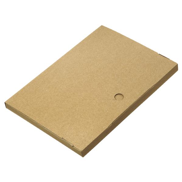 【まとめ買い10個セット品】 小型配送ボックス A4 200枚 32×22.5×2cm 【メイチョー】