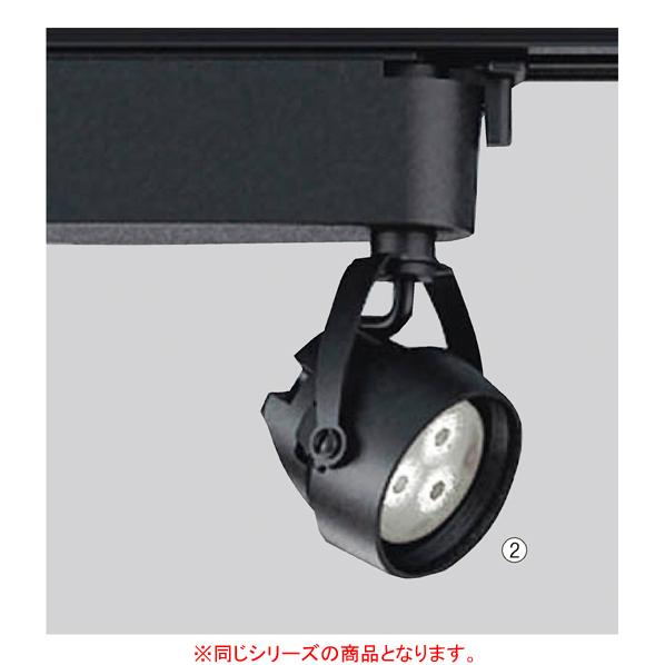 LEDスポットライト 中角 白色 ブラック 【メイチョー】