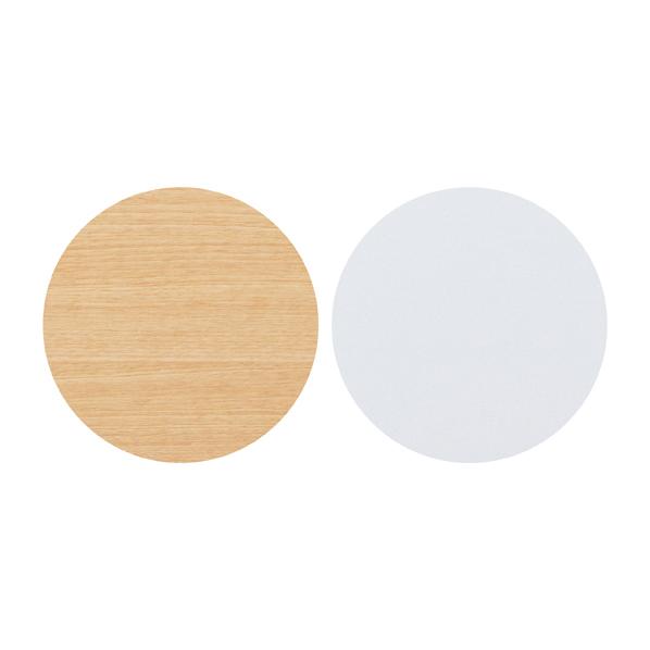 【まとめ買い10個セット品】 F-P上部Fパネルセット ホワイト用 W120cm エクリュ/ホワイト (リバーシブル仕様) 【メイチョー】