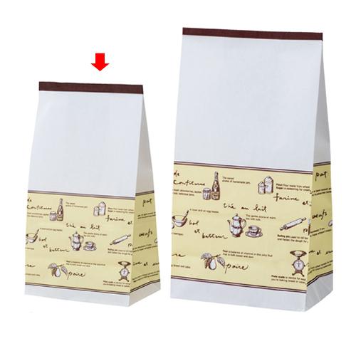 【まとめ買い10個セット品】 ティータイム 13×8×23.5 2000枚【店舗備品 包装紙 ラッピング 袋 ディスプレー店舗】