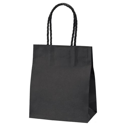 【まとめ買い10個セット品】 スムースバッグ 黒無地 16×9×19.5 25枚【店舗備品 包装紙 ラッピング 袋 ディスプレー店舗】