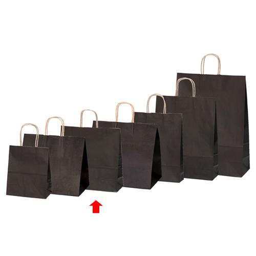 【まとめ買い10個セット品】 カラー手提げ紙袋 ブラウン 32×11.5×31 200枚【店舗備品 包装紙 ラッピング 袋 ディスプレー店舗】
