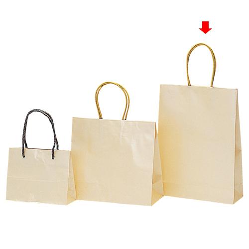 【まとめ買い10個セット品】 パールカラー クリーム M 20枚【店舗備品 包装紙 ラッピング 袋 ディスプレー店舗】