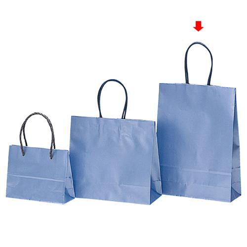 【まとめ買い10個セット品】 パールカラー ブルー M 200枚【店舗備品 包装紙 ラッピング 袋 ディスプレー店舗】