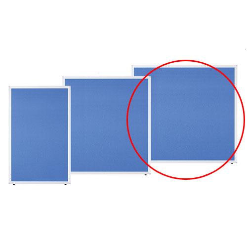 【まとめ買い10個セット品】 アルミパーティション 布張り フック連結タイプ ブルー H120×W120cm 【メーカー直送/代金引換決済不可】店舗什器 ディスプレー マネキン 装飾品 販促用品 ハンガー ラッピング
