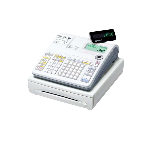 【まとめ買い10個セット品】 カシオ レジスター25部門TE-2800-25S シルバー 【メイチョー】